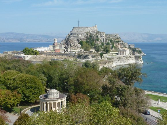 Corfu town walking holiday
