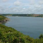 helford river from dennis head